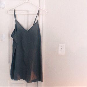 free people gray mini dress